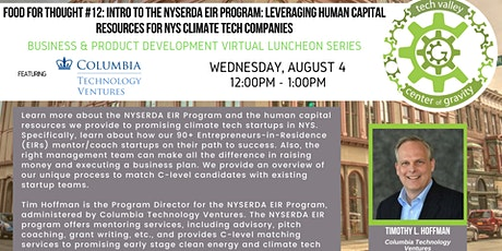 Food for Thought #12: INTRO to the NYSERDA EIR Program tickets