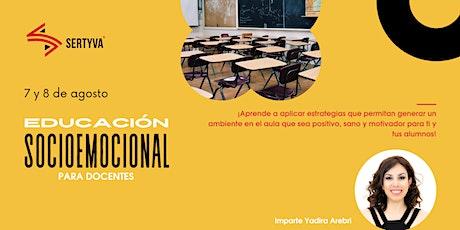Educación socioemocional para docentes entradas