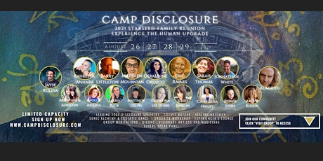 Camp Disclosure 2021: Experience the Human Upgrade tickets