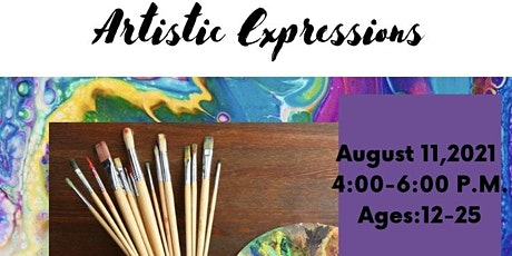 Artistic Expressions (Ages12-25) tickets