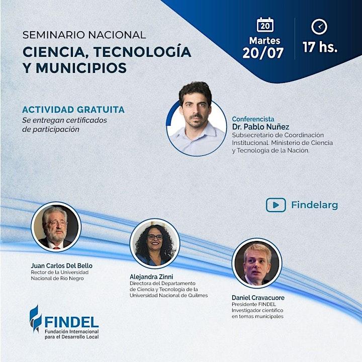 Imagen de CIENCIA, TECNOLOGÍA Y MUNICIPIOS