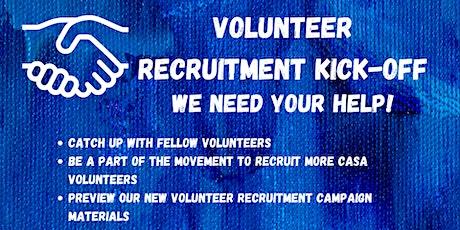 East Central Indiana CASA Volunteer Recruitment Kick-Off tickets