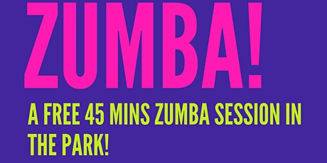 Copy of ZUMBA IN THE PARK ! tickets