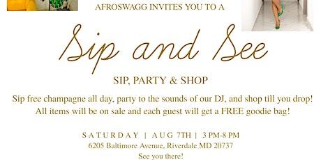Sip, Network & Shop tickets
