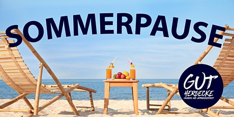 Gründer- und UnternehmerTreff Herdecke macht Sommerpause Tickets