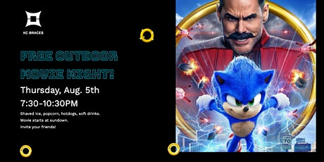 Free Outdoor Movie Night Featuring Sonic the Hedgehog! tickets