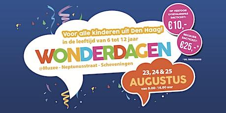 WonderDagen bij Muzee - 23 t/m 25 augustus tickets