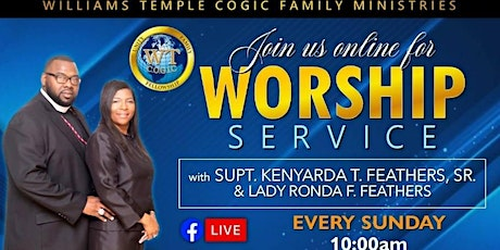 Williams Temple Special Wednesday Night Service Registration tickets