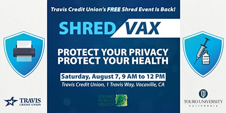 Shred & Vax Event tickets