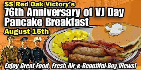 VJ Day Pancake Breakfast 2021 tickets