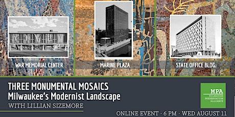 Three Monumental Mosaics Defining Milwaukee's Modern Landscape biglietti