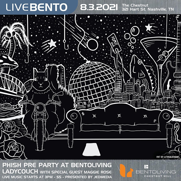 Phish Pre-Show Rooftop Concert ft. LadyCouch and Maggie Rose in Nashville image