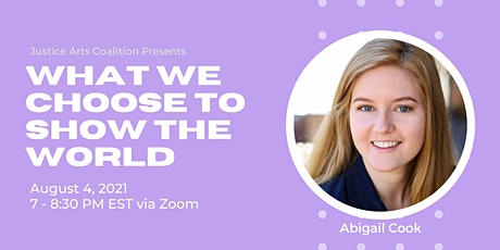 What We Choose to Show the World with Abby Cook tickets