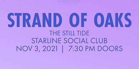 Strand of Oaks, The Still Tide tickets
