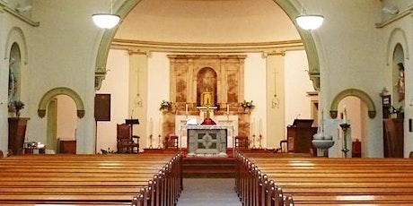 Mass:  SUNDAY 25 July, 9.30 am - St Columba's tickets