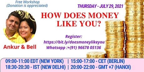 Free Seminar - How Does Money Like You? tickets