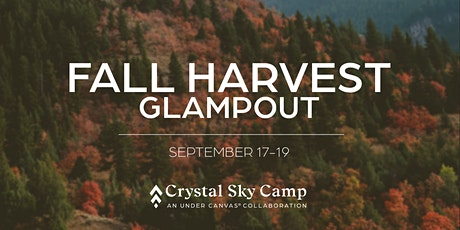 Fall Harvest Glampout at Crystal Sky Camp tickets