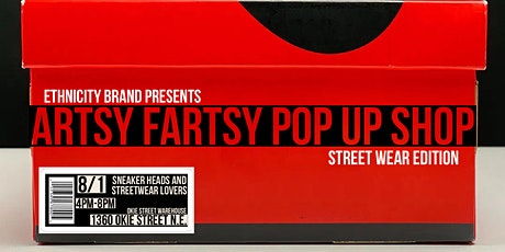 Artsy Fartsy Pop-Up Shop powered by EthnICITY Brand tickets