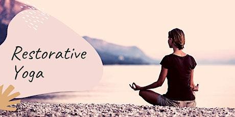 Beginners Restorative Yoga tickets