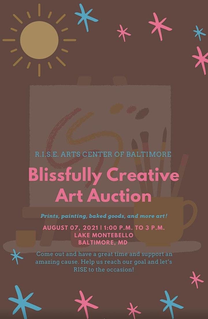 R.I.S.E. Arts Blissfully Creative Art Auction image