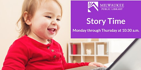 Virtual August Story Times with Milwaukee Public Library tickets