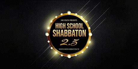 Haichal Moshe Youth: High School Shabbaton PART 2.5 tickets