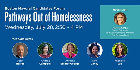 Boston Mayoral Candidates Forum: Pathways Out of Homelessness biljetter