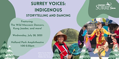 Surrey Voices: Indigenous Dancing, Music, and Storytelling tickets