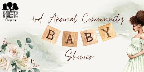 Third Annual Community Baby Shower tickets