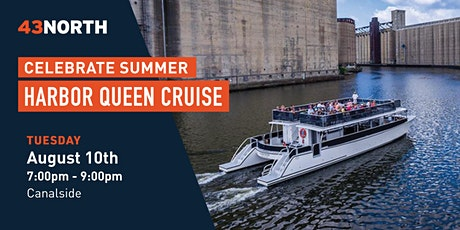 43North Sets Sail on the Harbor Queen tickets