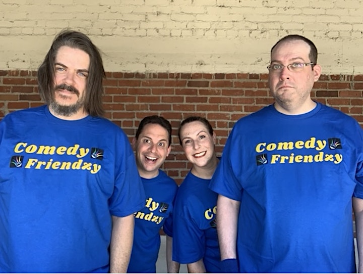 Comedy Friendzy: Live in person All Ages Improv show image