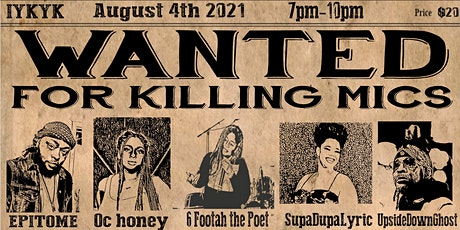 Live from the Underground - Prohibition Poetry tickets