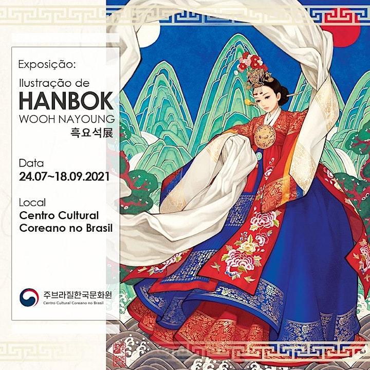 Imagem do evento Exposição: Ilustração de Hanbok - Wooh Nayoung