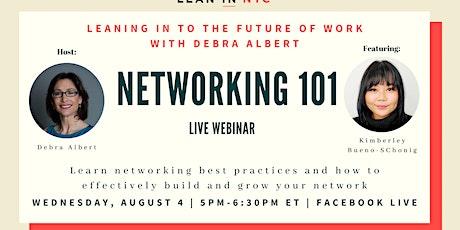 LIVE Workshop Series - Networking 101 tickets