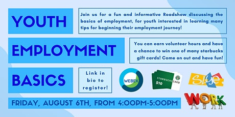 Online Roadshow: Youth Employment Basics Tickets