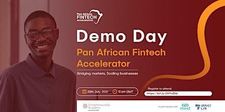 Pan-African Fintech Accelerator Demo Day! tickets