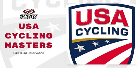 USAC Masters Bike Build Pickup Reservation for MONDAY, 08/02/2021 tickets