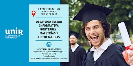 Sesión Informativa UNIR México Monterrey tickets
