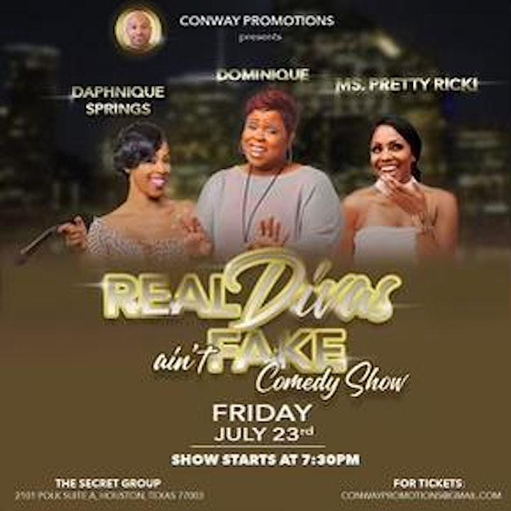 Real Divas ain't Fake: Comedy Show image