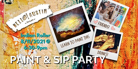 Hello! Paint at Indian Roller tickets
