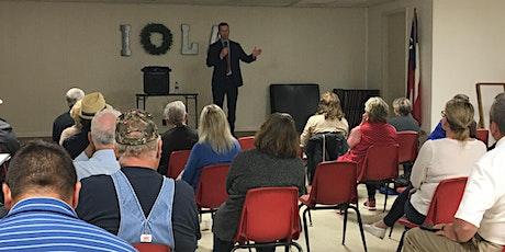 Precinct Training for Grimes County Republicans tickets