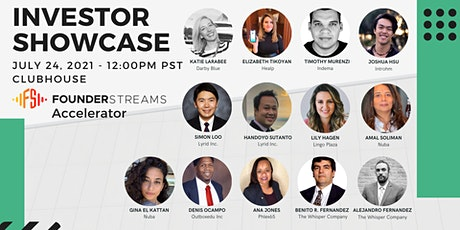 FounderStreams Accelerator | Investor Showcase tickets