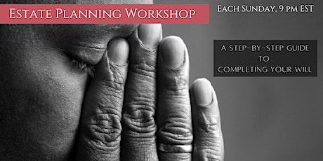 Estate Planning Workshop tickets