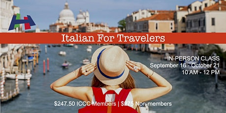 Italian for Travelers Class tickets