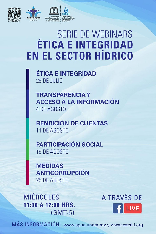 Imagen de Webinar - Ética e Integridad