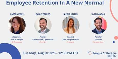 Employee Retention In A New Normal tickets