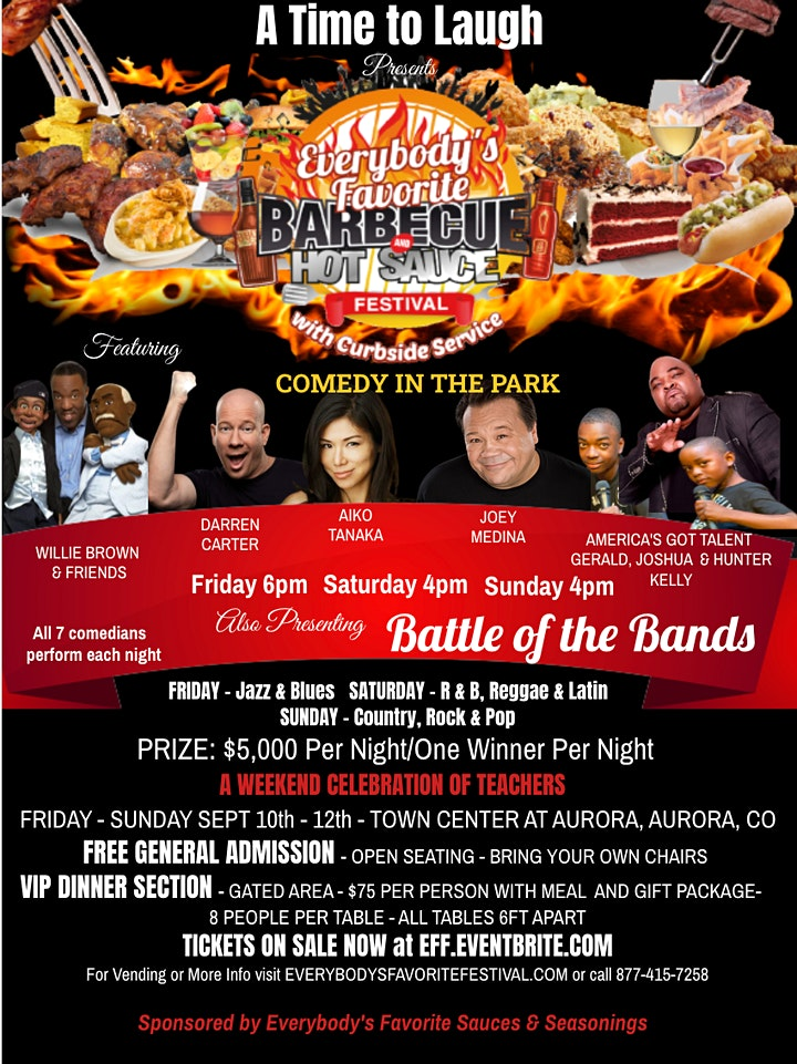 Everybody's Favorite Barbecue & Hot Sauce Festival, Aurora CO image