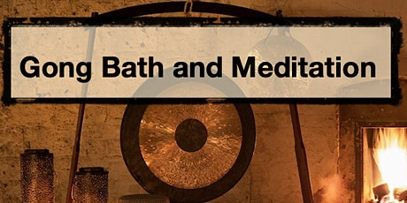 Gong Sound Healing  - Live - IN-PERSON! tickets