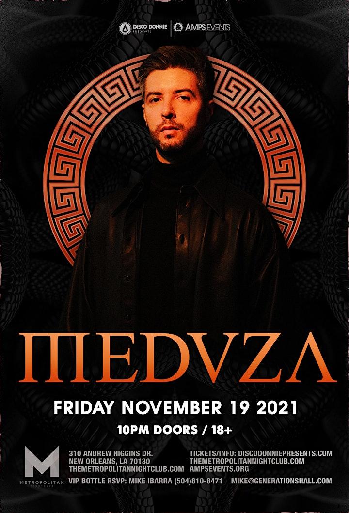 MEDUZA - Live at the Metropolitan - November 19, 2021 image