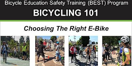 Bicycling 101: Choosing The Right E-Bike - Online Video Class tickets